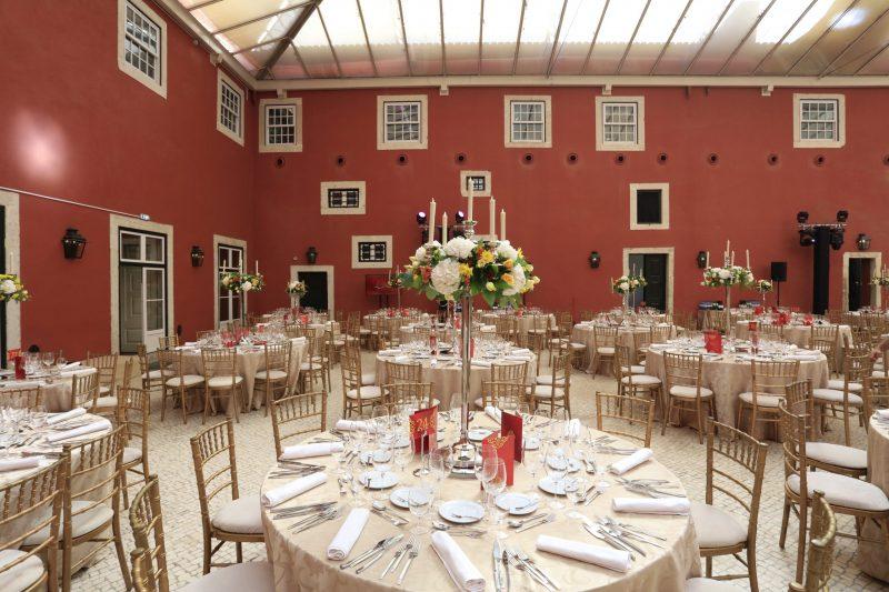 decoração mesa evento