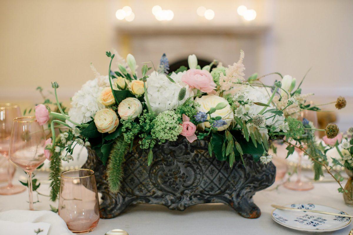 decorações florais para um casamento de sonho
