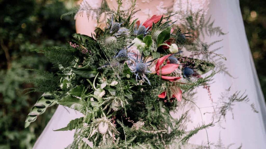 Bouquet noiva cascata
