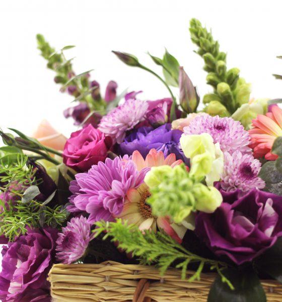 cesta de flores, decoração