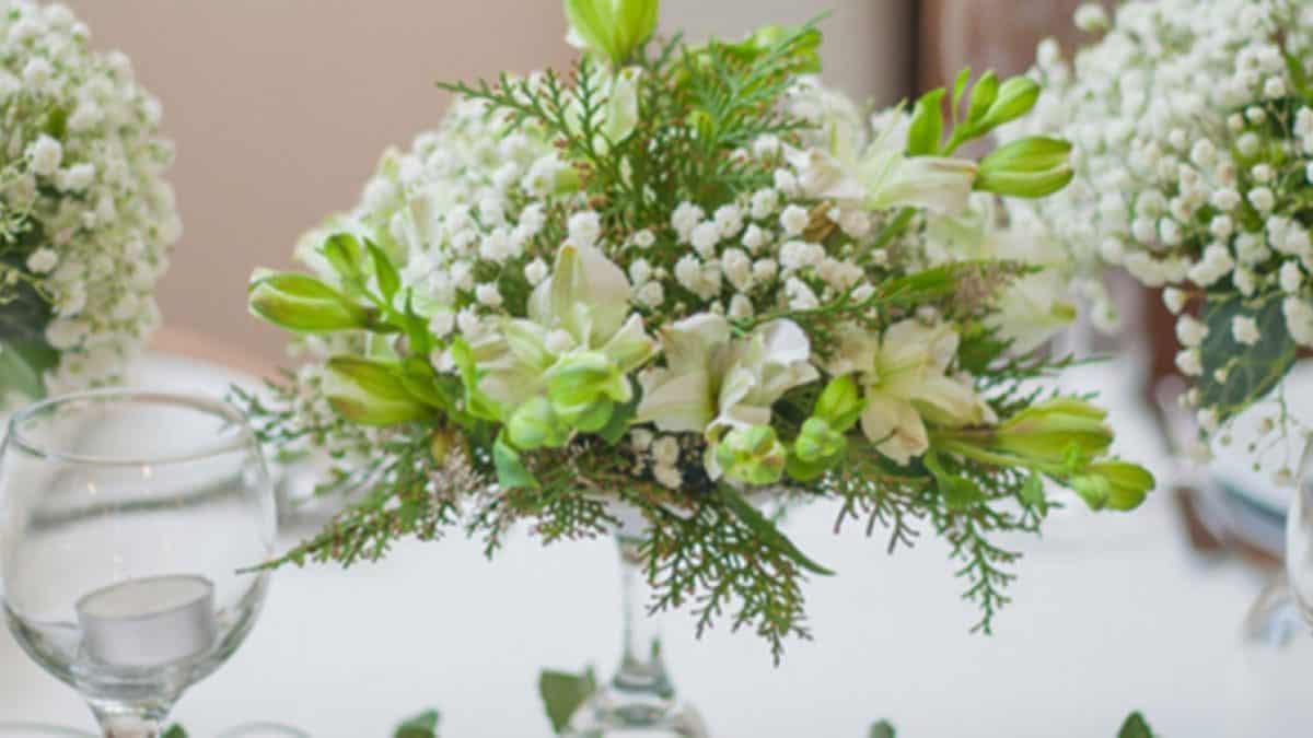 Ramo de Flores Brancas