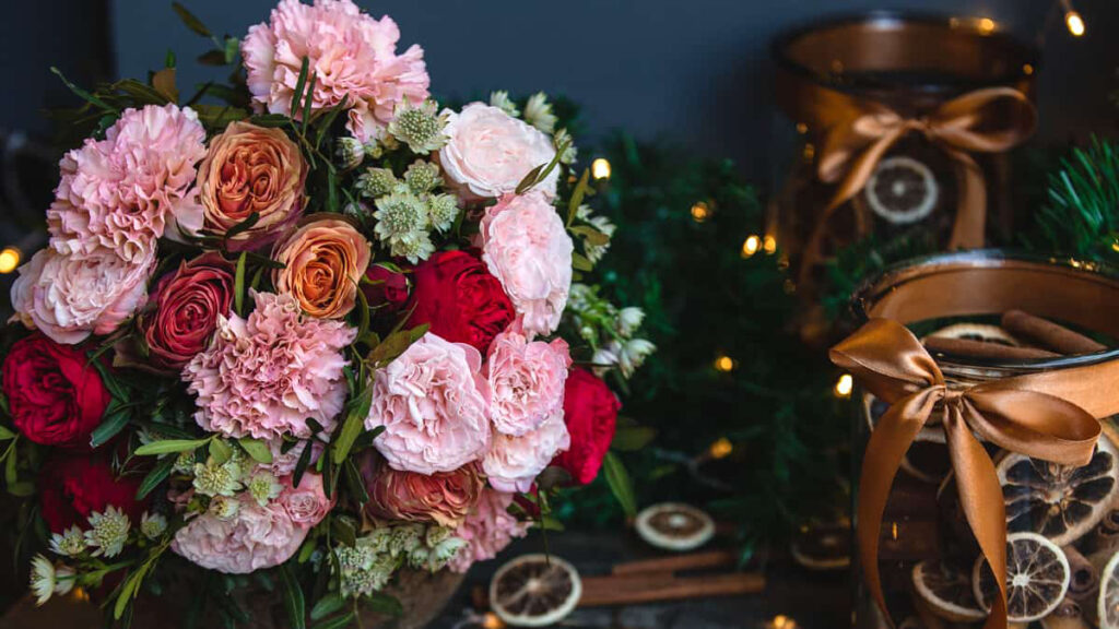 Flores Naturais para Natal