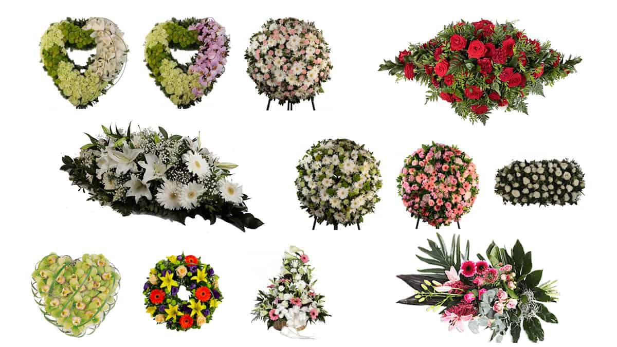 Entregas rápidas e seguras de flores para funeral em todo o País