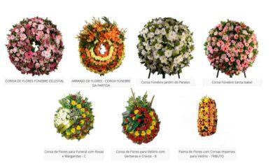 Flores para Funerais Lizgarden