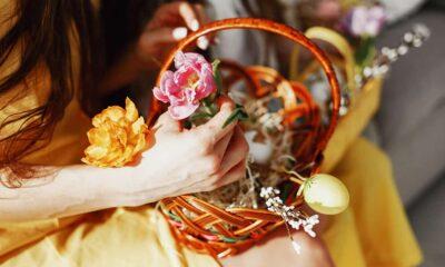 Arranjos de flores para decorar a sua casa na Páscoa