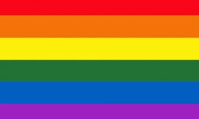 O Arco -íris e as flores para casamentos entre pessoas do mesmo sexo